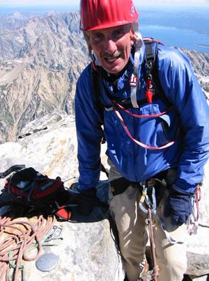 Harry R Hill climbing