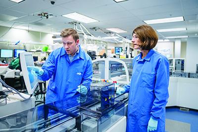 Hospital Laboratory University Specimen Processing
