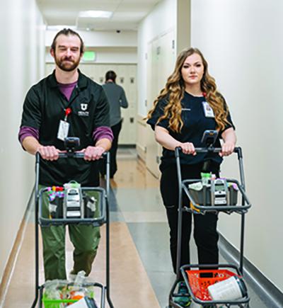 Hospital Laboratory phlebotomists