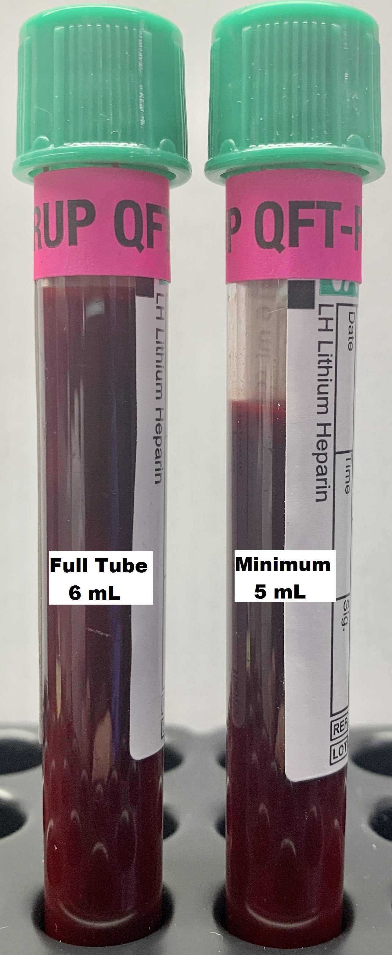 Quantiferon gold plus tubes