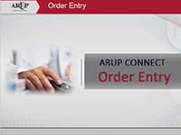 ARUP Order Entry