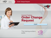 Order Change Request
